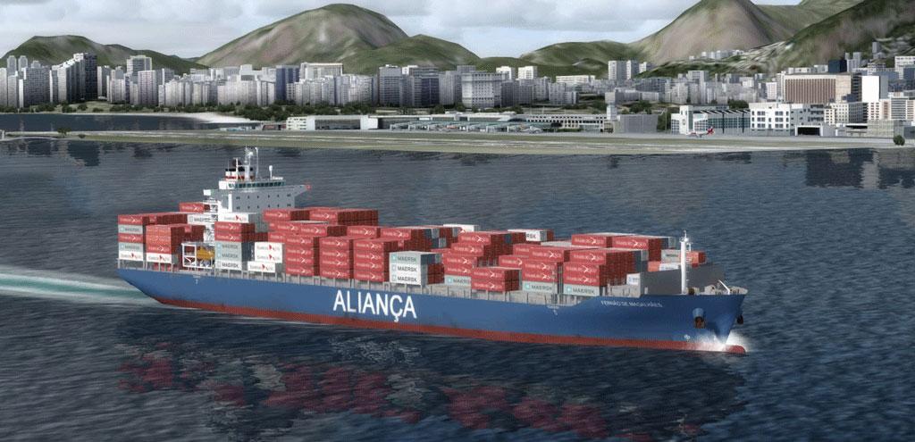 FSX_P3D_Rio_Ships